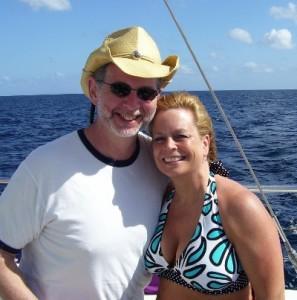 Tim & Kim in St. Lucia
