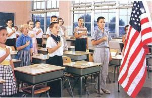 Kids Saying Pledge