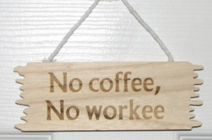 NoCoffee-NoWorkee