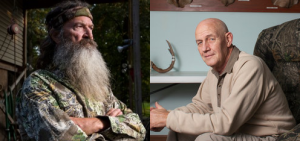 Phil Robertson and Dick Metcalf were both fired for expressing their views.